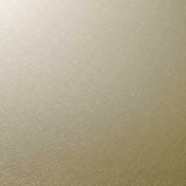 Chapa acero inoxidable color T22-Champagne