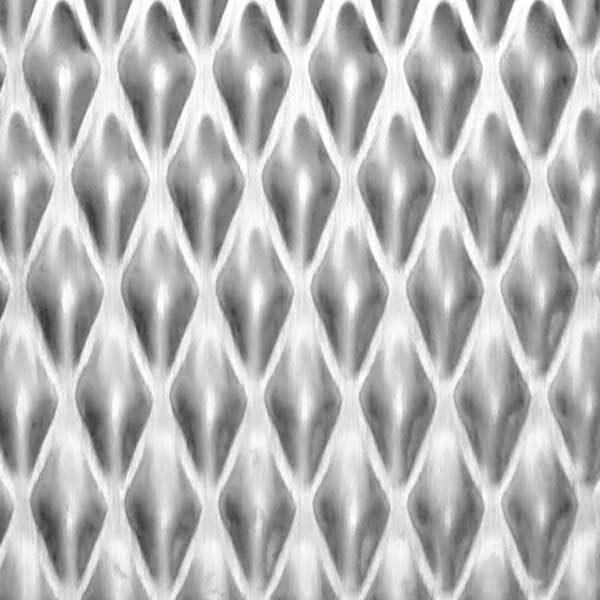Chapa acero inoxidable textura 7GM