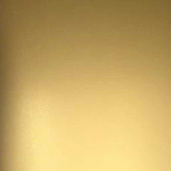 Plancha acero inoxidable color Gold