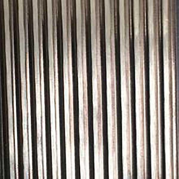 Plancha acero inoxidable textura Pinstripe